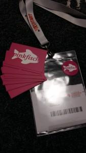 Visitenkarten, Aufkleber, Eintrittskarte - ready to rumble!