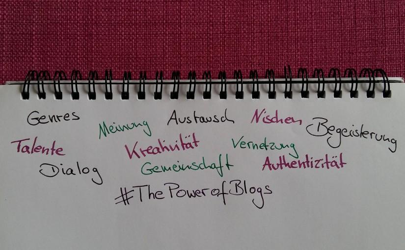 #ThePowerofBlogs
