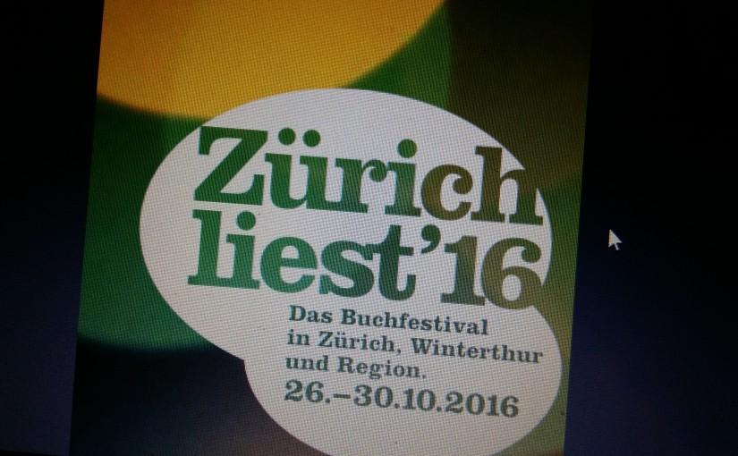 Zürich ruft – Zürich liest 2016!