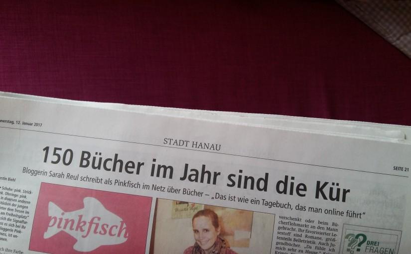 Pinkfisch im Hanauer Anzeiger