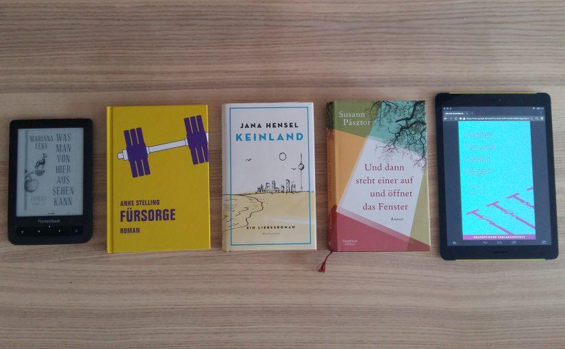 Fünf Longlist-Favoritinnen! Deutscher Buchpreis 2017