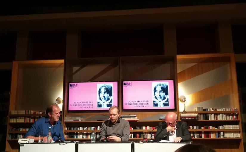 Ein Abend mit Johan Harstad im Literaturhaus Frankfurt